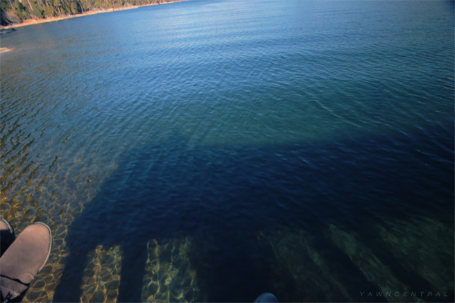 Emerald Bay Dock Clear Water