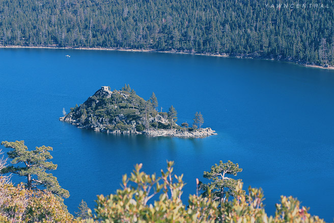 Emerald Bay Lake Tahoe Island
