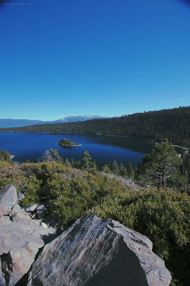 Emerald Bay Lake Tahoe Vertical