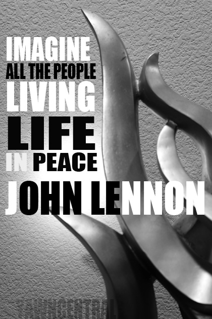 peace quotes imagine all the people living life in peace john lennon