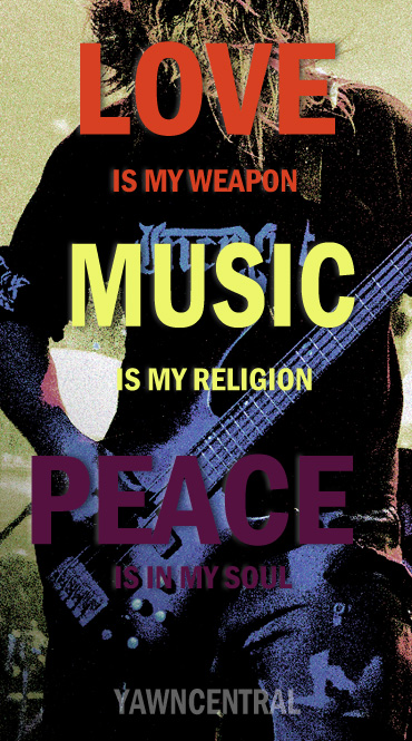 peace quotes love is my weapon music is my religion peace is in my soul author