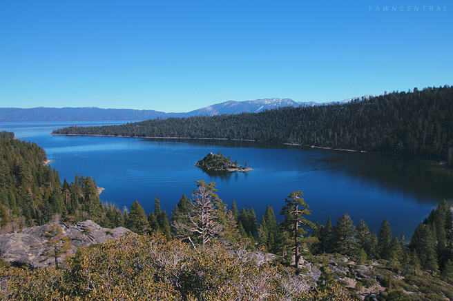 Emerald Bay Lake Tahoe Landscape