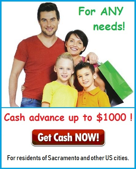 Cash Advance in Sacramento California